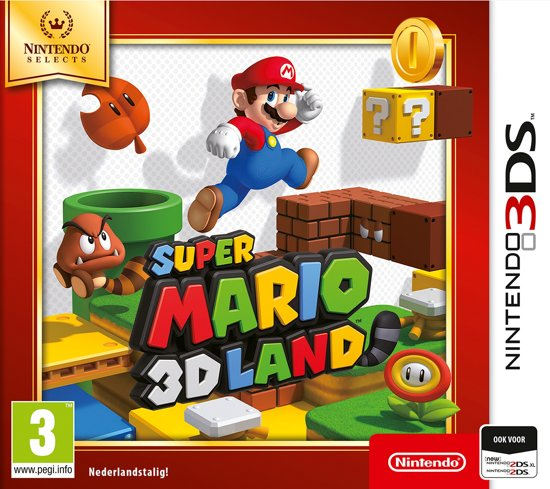 Super Mario 3D Land - Nintendo Selects - 3DS