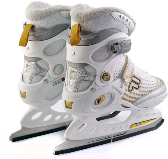 Fila Ijshockeyschaatsen Primo Ice Spot Lady Dames Wit Maat 38,5