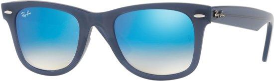 ray ban met blauwe glazen