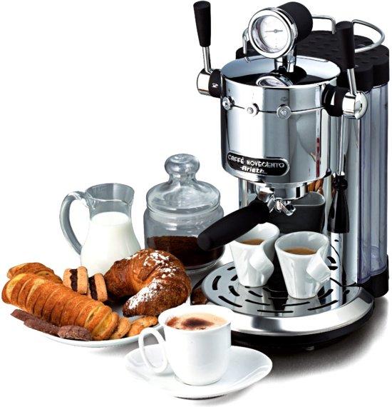 Ariete Caffè Novecento Retro Espressomachine Chroom