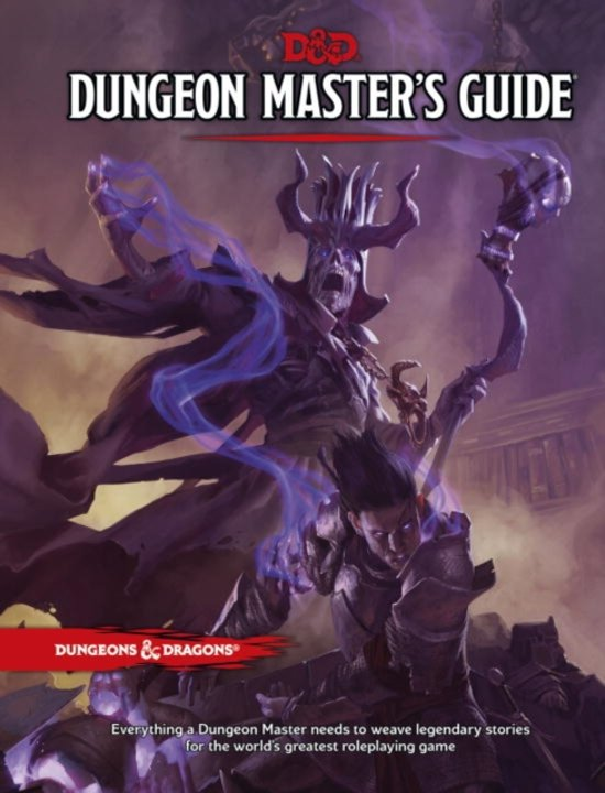 D&D 5.0 - Dungeon Master's Guide TRPG