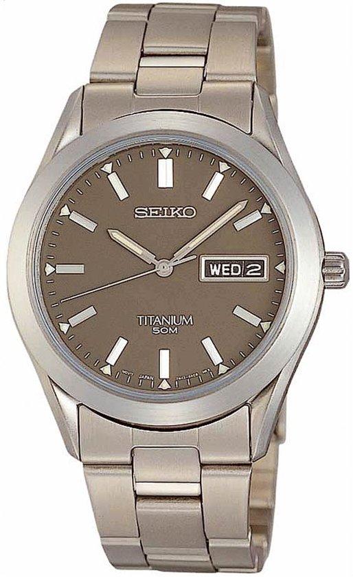 Seiko SGG599P - Horloge - 37 mm - Zilverkleurig