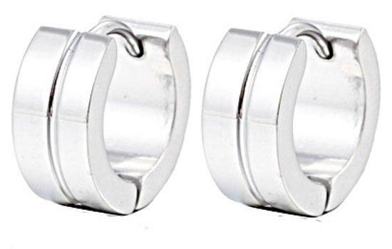 online bestellen echt goedkoop nu kopen bol.com | oorring Oorbellen Edelstaal, Stainless Steel 13mm ...