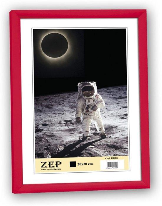 Bolcom Zep Kunststof Fotolijst Basic Frame Rood Voor Foto