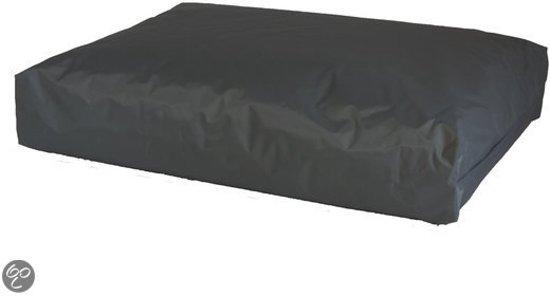 Comfort Kussen Hondenkussen nylon 100 x 70 x 15 cm - Antraciet