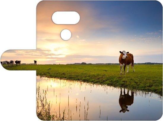 LG G5 Uniek Boekhoesje Koeien Met Opbergvakjes in Wachtebeke