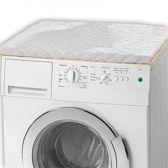 Wasmachine Overtrek Wasmachine Coating Droger Hoes Beschermer Cover Wit