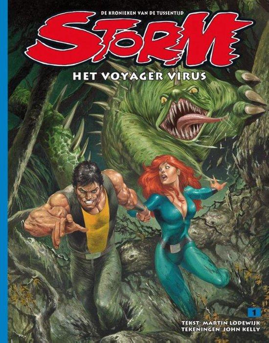 Boek cover Storm - Storm 1 Het Voyager Virus van Martin Lodewijk (Paperback)