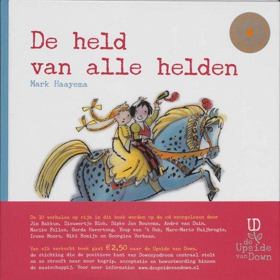 Cover van het boek 'De Held van alle helden' van M. Haayema