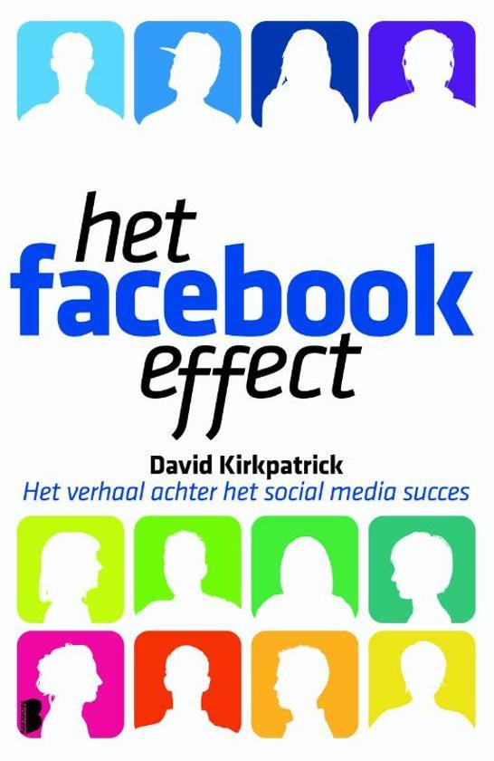 Cover van het boek 'Het facebook effect'