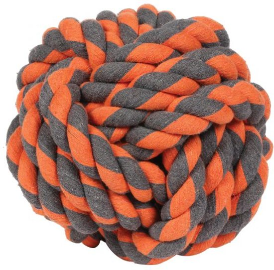 Happy Pet Nuts For Knots - Extreme Touwbal - Hondenspeelgoed - 24 x 24 x 24 cm