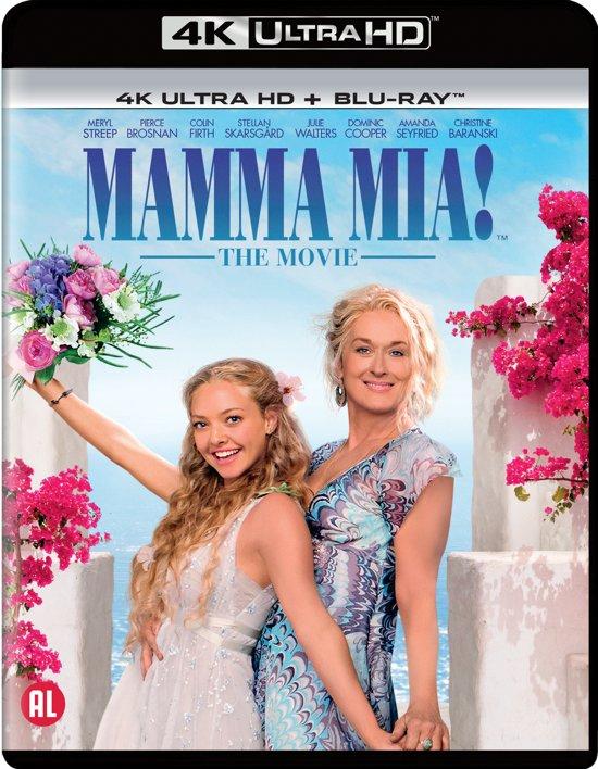 DVD cover van Mamma Mia! The Movie (4K Ultra HD Blu-ray)