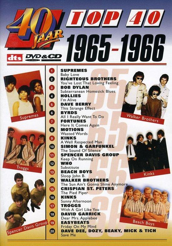 40 jaar top40 bol.| 40 Jaar Top 40/1965 1966 (Dvd) | Dvd's 40 jaar top40