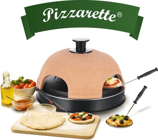 Emerio PO-115985 - Pizzarette  - 4 personen