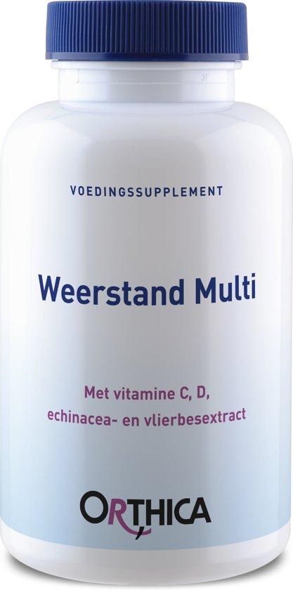 Orthica  Weerstand Multi (multivitaminen)