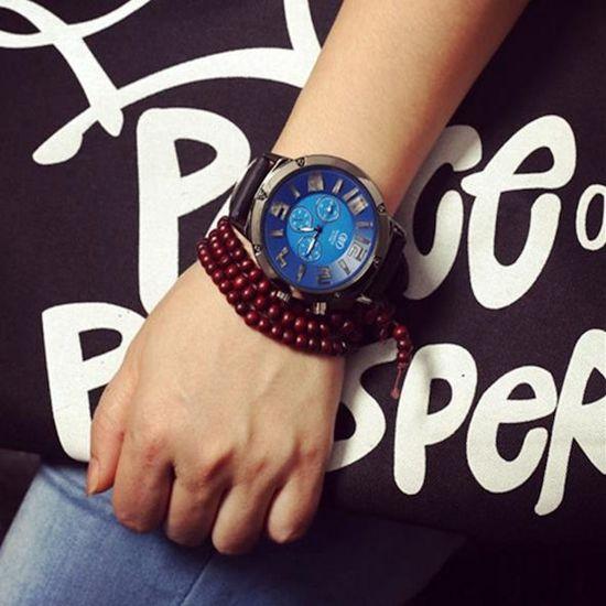 bol.com | Horloge met LED Verlichting | Heren LED Horloge | Wit