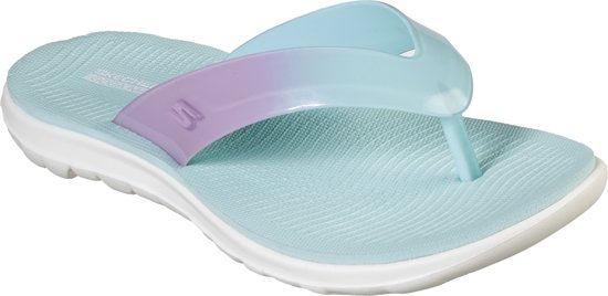 Skechers Nextwave Ultra Slippers Dames - Turquoise Pink - Maat  39