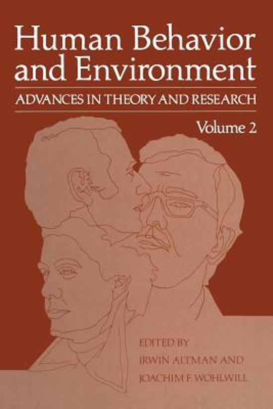 human behavior and environment