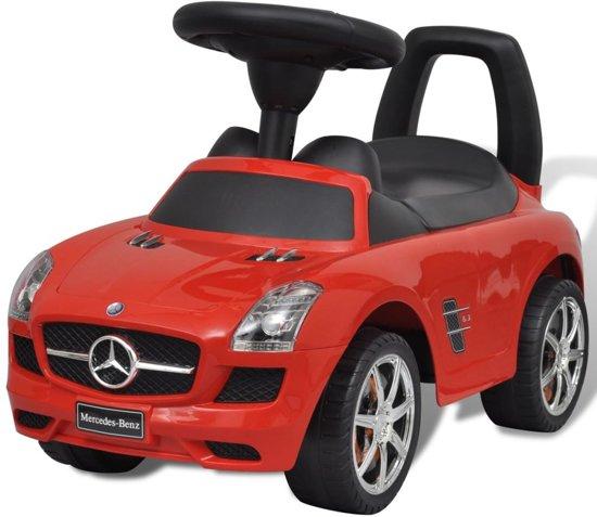 Bol Com Mercedes Benz Loopauto Rood Vidaxl Speelgoed