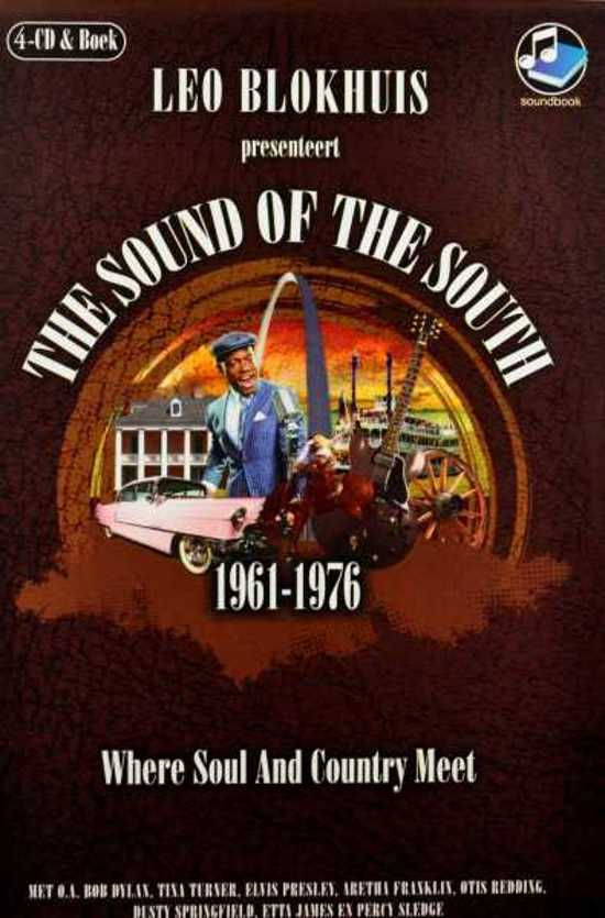 Boek cover The Sound of the South + CD van Leo Blokhuis (Hardcover)