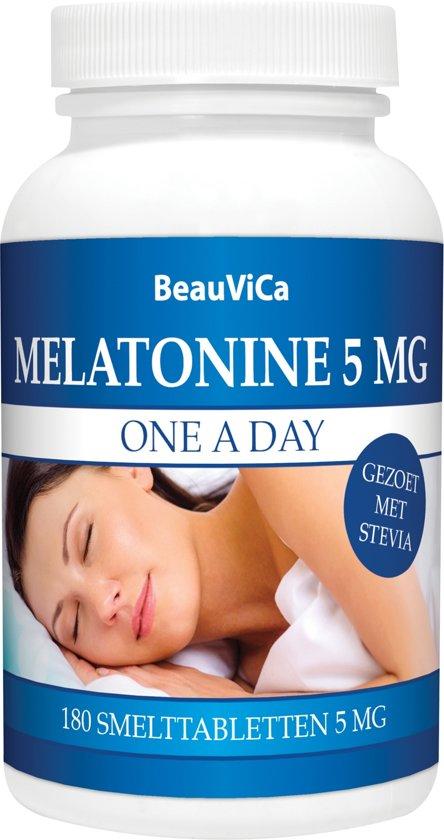 BeauViCa Melatonine 5 mg 180 smelttabletten