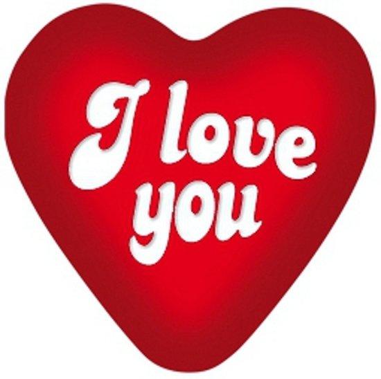 Bol I Love You Decoratie Bord 49 Cm Merkloos Speelgoed