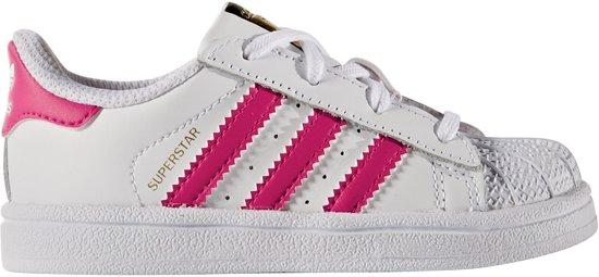 adidas superstar roze wit