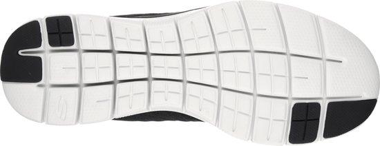 52185 Skechers 2 black maat Flex Sportschoenen Advantage white Heren 0 46 WYpqfArYaw