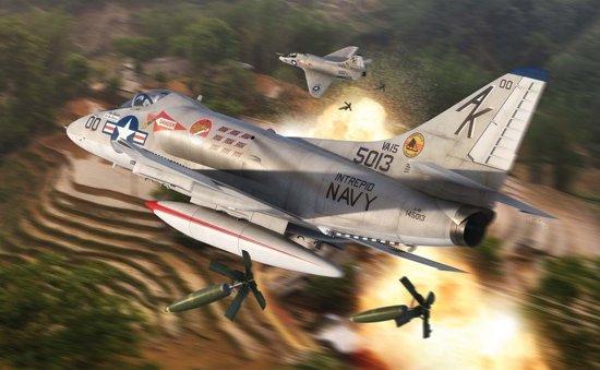 Airfix - Douglas A4 Skyhawk (3/19) * (Af03029a)