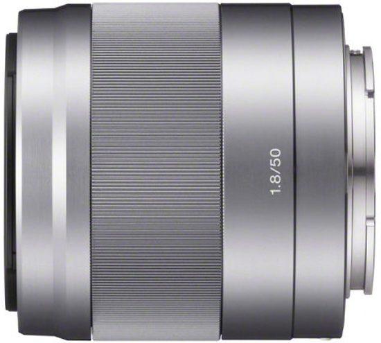 Sony E 50mm f/1.8 OSS Zilver
