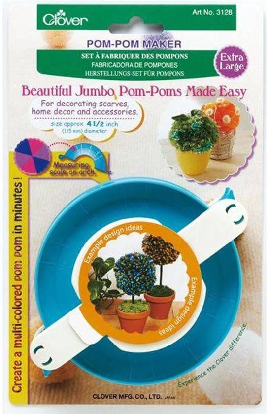 Bolcom Clover Pom Pom Maker Clover Speelgoed