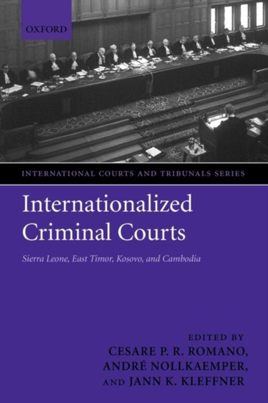 Boek cover Internationalized Criminal Courts van Romano (Paperback)
