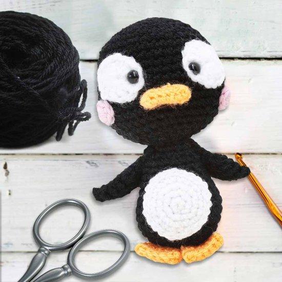 Bolcom Mikamax Pinguin Haak Pakket Haken Knuffel Mikamax