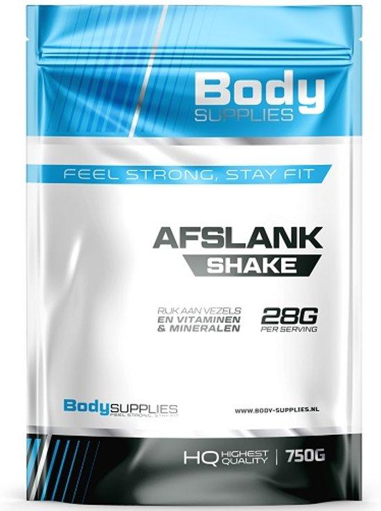 Afslank Shake 750gr Aardbei