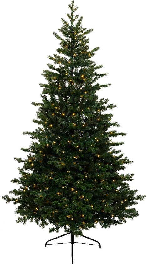 everlands kunstkerstboom allison pine 180cm met 320 led lampjes