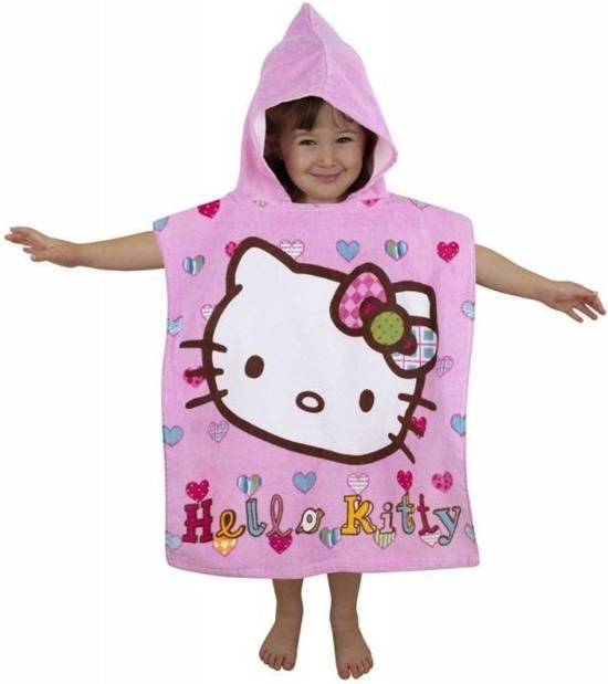 Handdoek Hello Kitty.Hello Kitty Poncho Handdoek