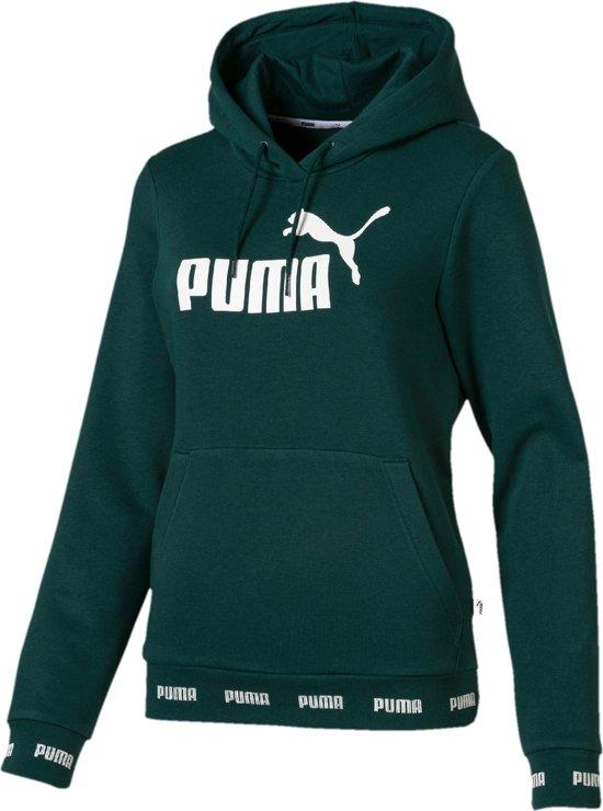 94f75001832 PUMA Amplified Hoody Trui Dames - Ponderosa Pine