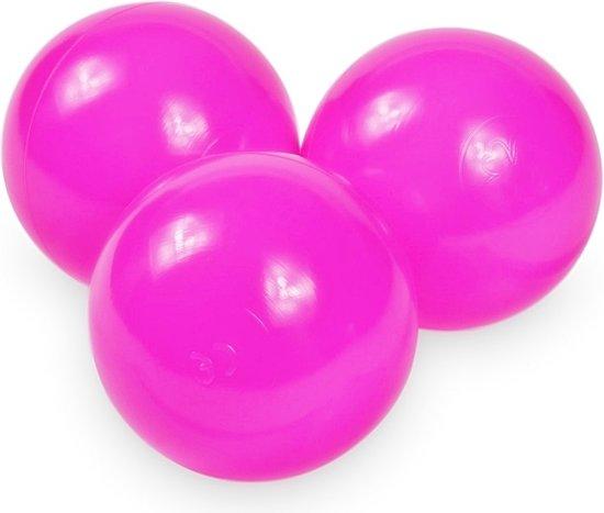 Ballenbak ballen roze (70mm) voor ballenbak 100 stuks