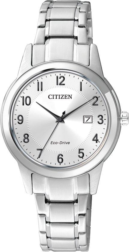 Citizen FE1081-59B - Horloge - Staal - Zilverkleurig - Ø 29.5 mm