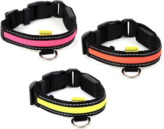 bol.com   Halsband met LED verlichting (nek 34-31 cm)