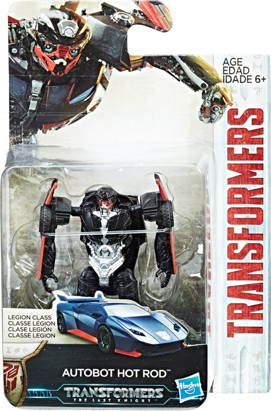 Afbeelding van Transformers Movie 5 Legion Figure Hot R speelgoed