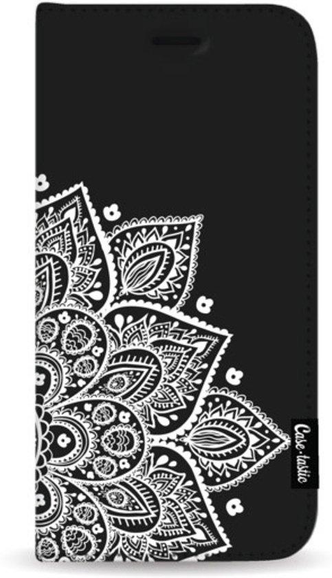 Casetastic Wallet Case Black Samsung Galaxy A50 (2019) - Floral Mandala White