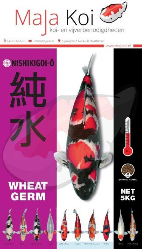 Nishikigoi Wheat Germ 6mm 5 kilo