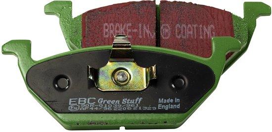 Set EBC Greenstuff remblokken DP21064