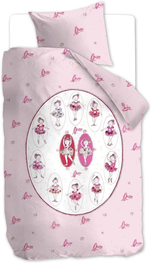 Beddinghouse Kids Ballet Dekbedovertrek - Roze - eenpersoons - 140x200/220 - Roze