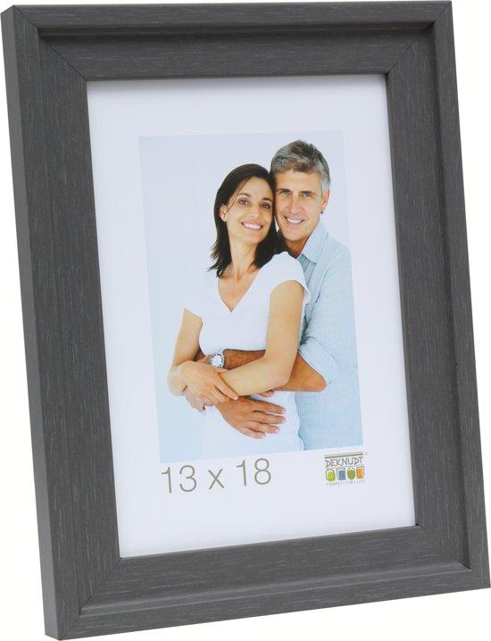 Deknudt Frames Fotokader grijs met opstaand randje, schilderlook fotomaat 24x30 cm
