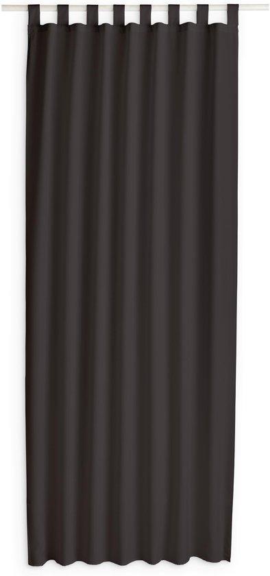 today kant en klaar gordijn met lus bruin 140cm x 260cm
