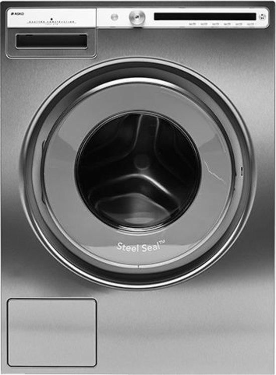 Asko W4086C.S Vrijstaand Voorbelading 8kg 1600RPM A+++ Roestvrijstaal wasmachine