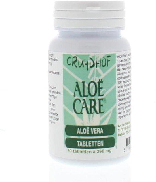 Cruydhof Aloë Care - 60 Tabletten - Voedingssupplement