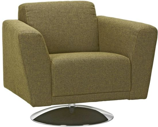 Woonexpress pampus fauteuil met arm groen for Fauteuil groen